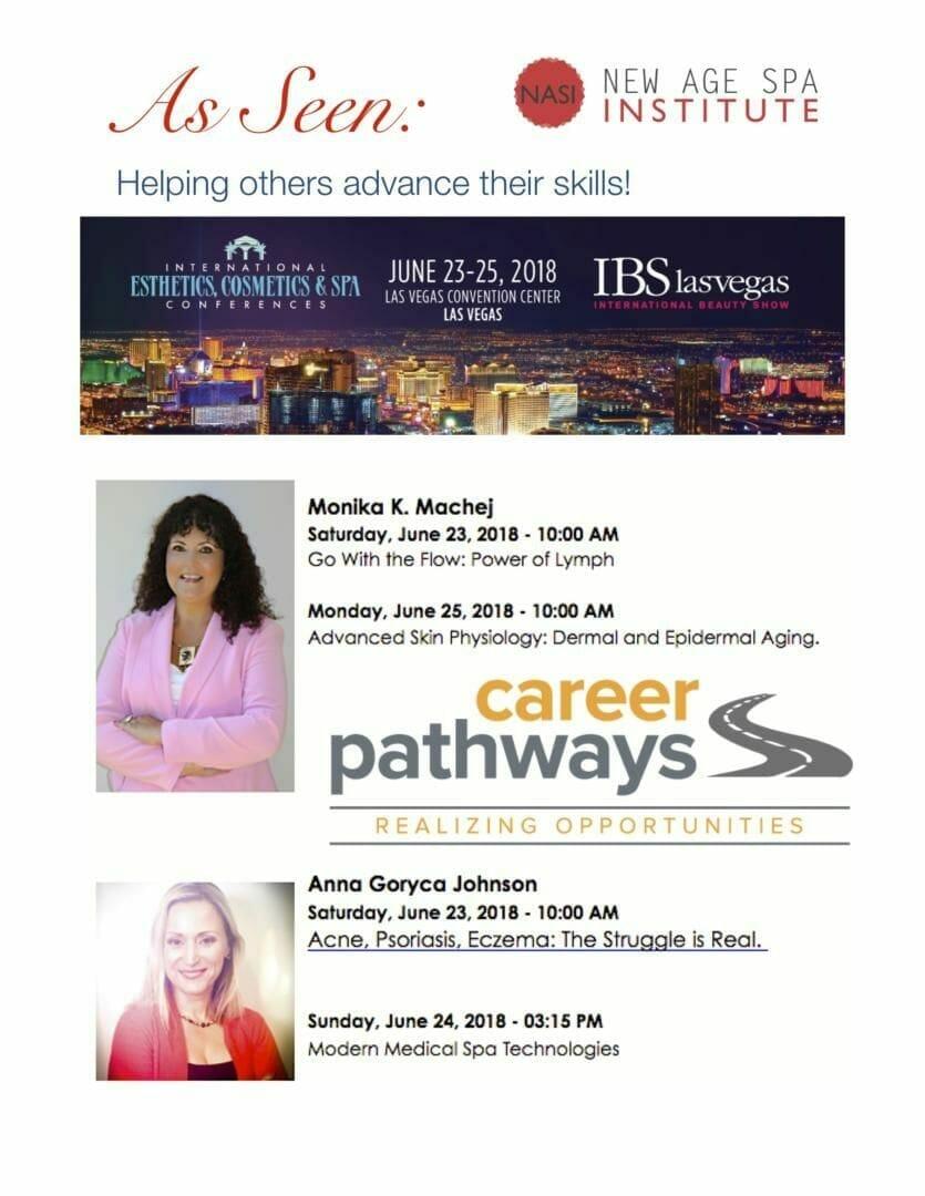 As Seen 2018 Iecsc Las Vegas New Age Spa Institute